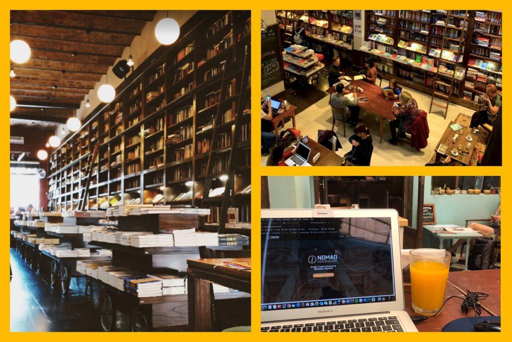 Libreria e caffetteria nel cuore di Palermo, Buenos Aires