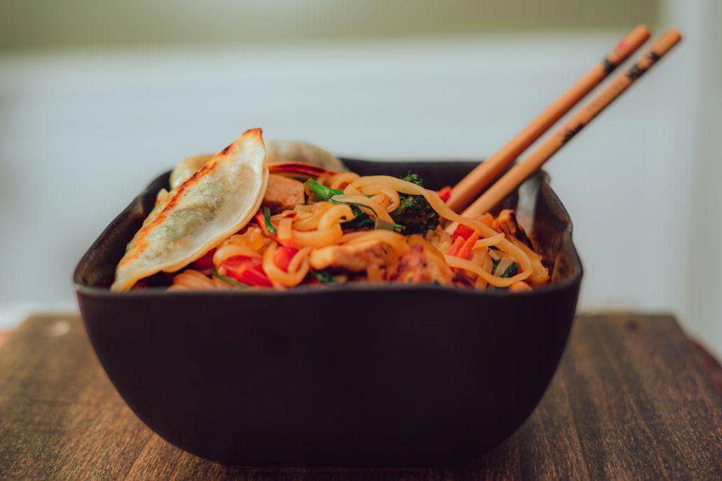 Toda la belleza de un plato de pad thai